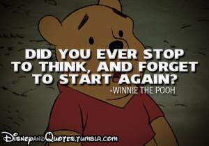 Disney's quote (Winnie The Pooh)   via Tumblr