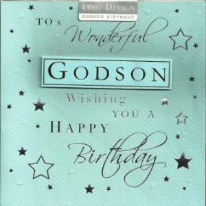 Happy Birthday Godson