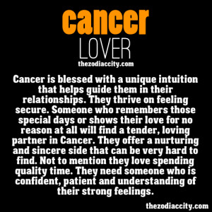 The Cancer lover.
