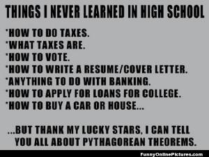 Funny high school essay quotes