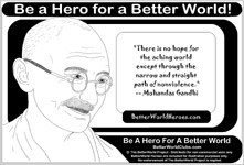 BetterWorld Issue - Nonviolence