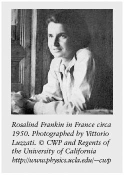 Rosalind Franklin and the Double Helix