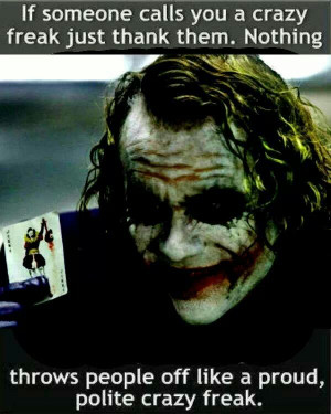 quote #the Joker: Nerdy Comic, Absolutely True, The Jokers, Jokers ...