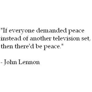 peace, quotes, john lennon, famous Images, peace, quotes, john lennon ...