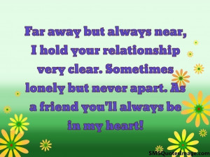 Far away but always near...