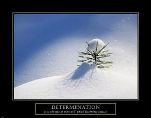 Inspirational > Inspirational Quotes > Determination : Art Prints ...