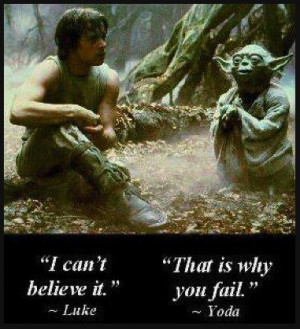 Luke Skywalker & Master Yoda