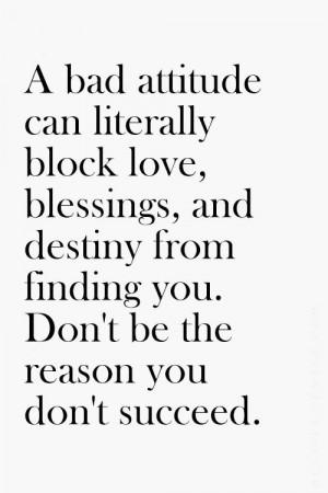 ... Bad Attitude, So True, Attitude Quote, Good Vibes, Positive Attitude
