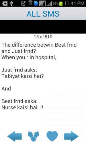 Urdu Funny SMS Messages