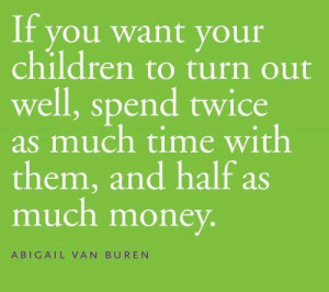 The gift of time with your kids