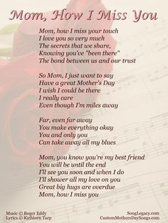 in memory of your mother years daily mom talk feel encouraged dream ...