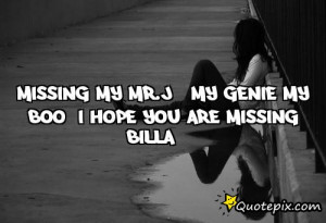 Miss My Boo Quotes