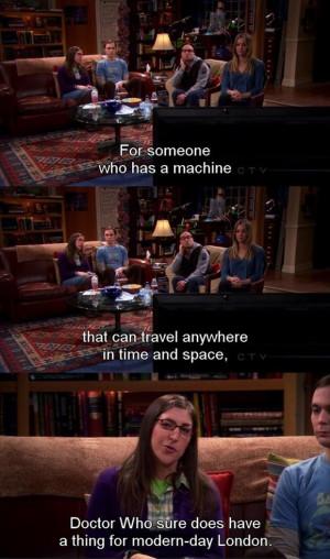 funny doctor who, big bang theory