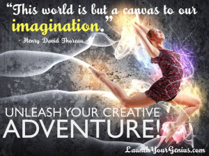 As a creative person, you will have to continually try new things and ...