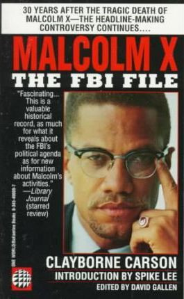 """Start by marking """"Malcolm X: The FBI File"""" as Want to Read:"""