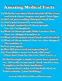 amazing medical facts
