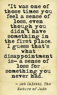 Quote about disappointment This quote courtesy of @Pinstamatic (http ...