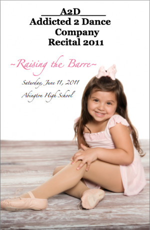 Want To Have YOUR Dancer on Our Recital Cover?
