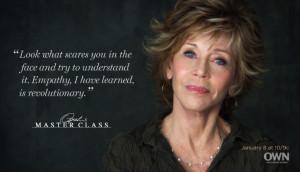 Jane Fonda, a classic.
