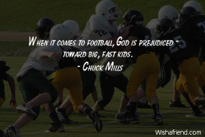 americanfootball-When it comes to football, God is prejudiced - toward ...