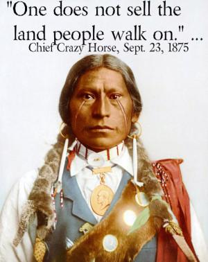 NATIVE PRIDE ★ Chief Crazy Horse ☆