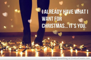 christmas love, couples, cute, love, pretty, quote, quotes