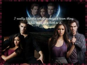Vampire Diaries - Damon, Elena, Stefan by GD0578