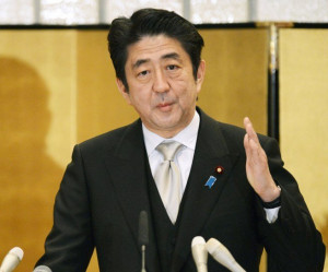 Shinzo Abe In Formal Dress