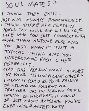 Soul-mates? @Sarah Chintomby Young @Kayla Barkett Frost