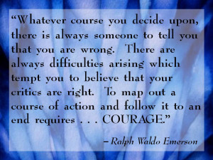 courage meaning