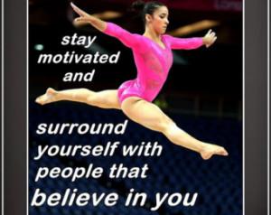 Gymnastics Poster Aly Raisman Olymp ic Champion Photo Quote Wall Art ...