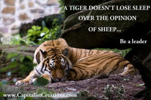 Tiger Quotes And Sayings Quotes for entrepreneurs
