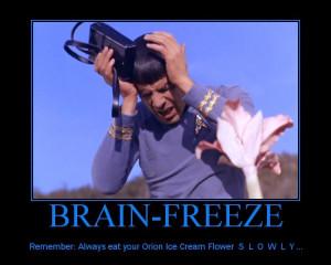 Mr. Spock Inspirational Poster