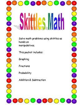 Skittles Math Activities!