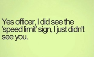 funny police officer quotes