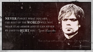 Tyrion Lannister, A quote by Tyrion Lannister from Game of Thrones