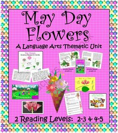 May Day Baskets And May Day Poems, Activities