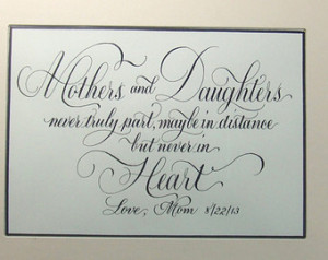 Calligraphy for Poems, Quotes, Sayings, Statements, Bible Scripture ...