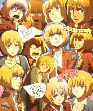 Armin Attack On Titan!