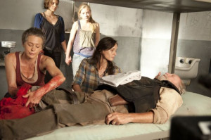 ), Maggie Greene (Lauren Cohan), Beth Greene (Emily Kinney) and Lori ...