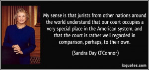 that our court occupies a very special place in the American system ...