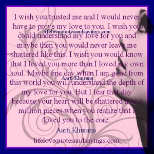 Love Me Forever Quotes