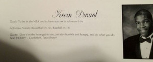Basketball Quotes Kevin Durant Kevin durant high school