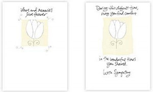 Product: (SY474) Sympathy Card Quotes to Comfort