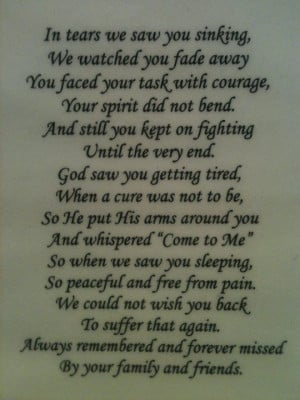 Passing Away Quotes   Loved one passing   Quotes: Brother Pass Away ...