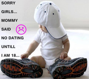 see more Funny Quotes from a cute baby