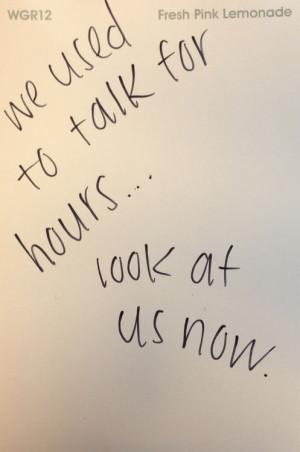 drifting apart quotes