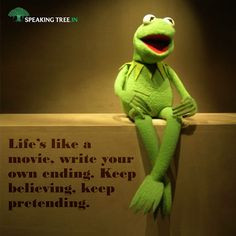 Kermit is children's favourite frog from the well-known TV show Sesame ...