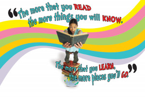 "Dr. Seuss, ""I Can Read With My Eyes Shut!"""