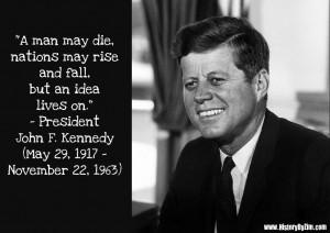 In Their Words – President John F. Kennedy
